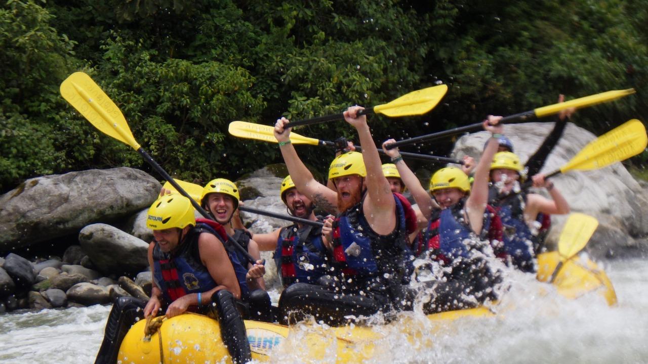 Rafting en Samari