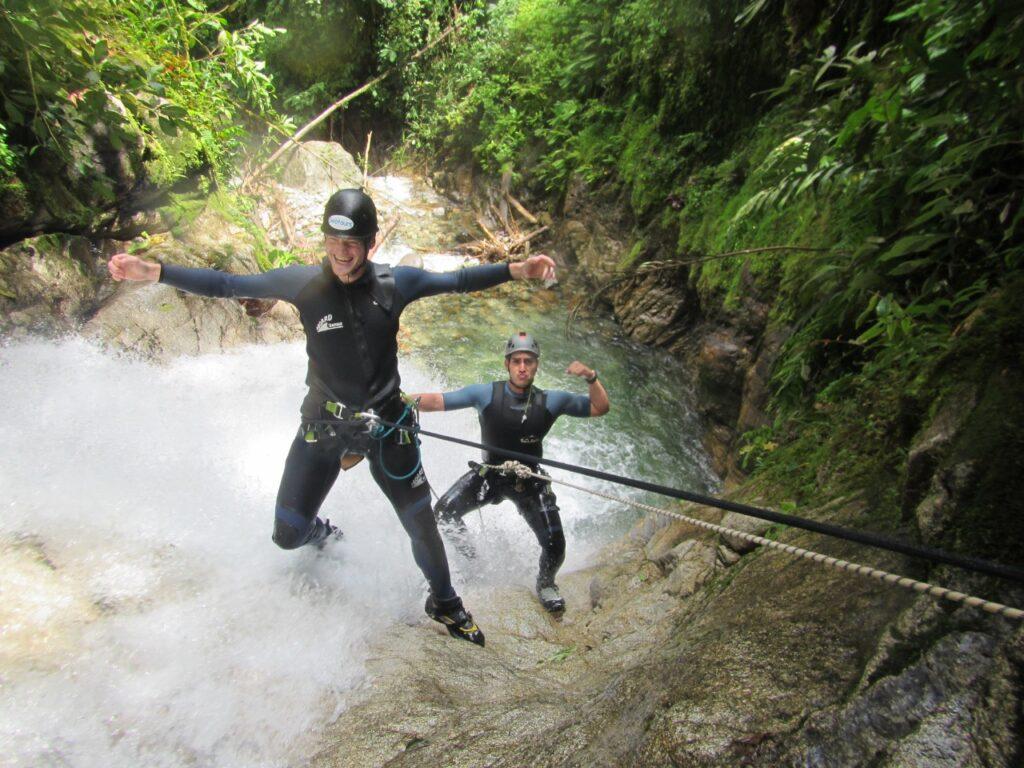 Canyoning Baños